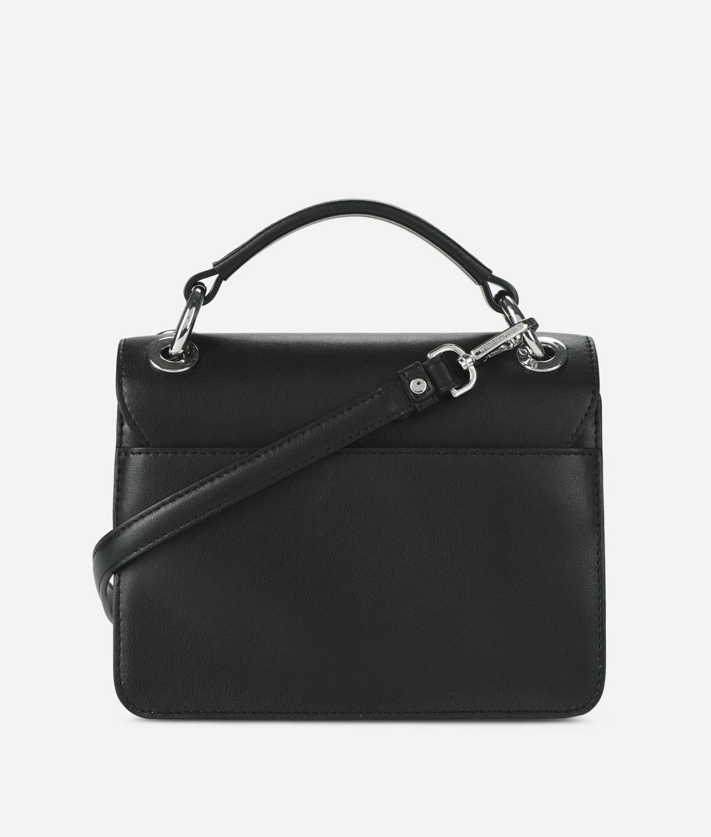 KARL LAGERFELD K/Tokyo Pleated Shoulder Bag Handbag Woman d