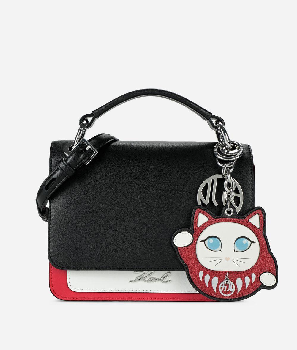 KARL LAGERFELD K/Tokyo Pleated Shoulder Bag Handbag Woman f