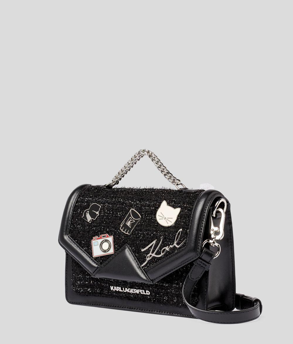 KARL LAGERFELD K/Klassik Pins Shoulder Bag Handbag Woman d