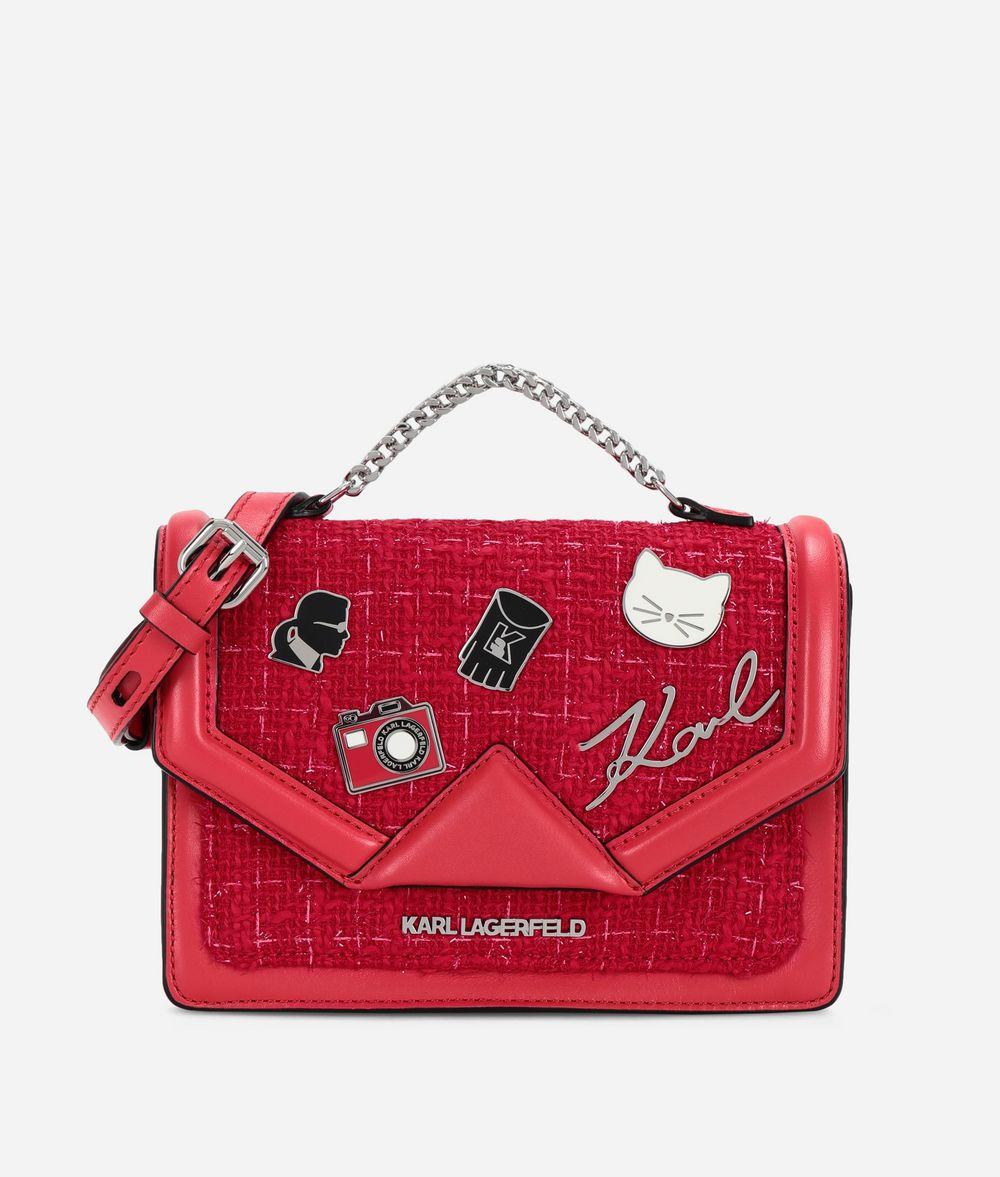 KARL LAGERFELD K/Klassik Pins Shoulder Bag Handbag Woman f