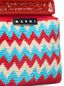 Marni MARNI MARKET red frame bag in crochet wool with zigzag pattern Man - 4