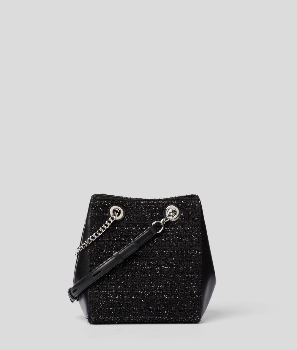 KARL LAGERFELD K/Klassik Pins Bucket Bag Drawstring bag Woman d