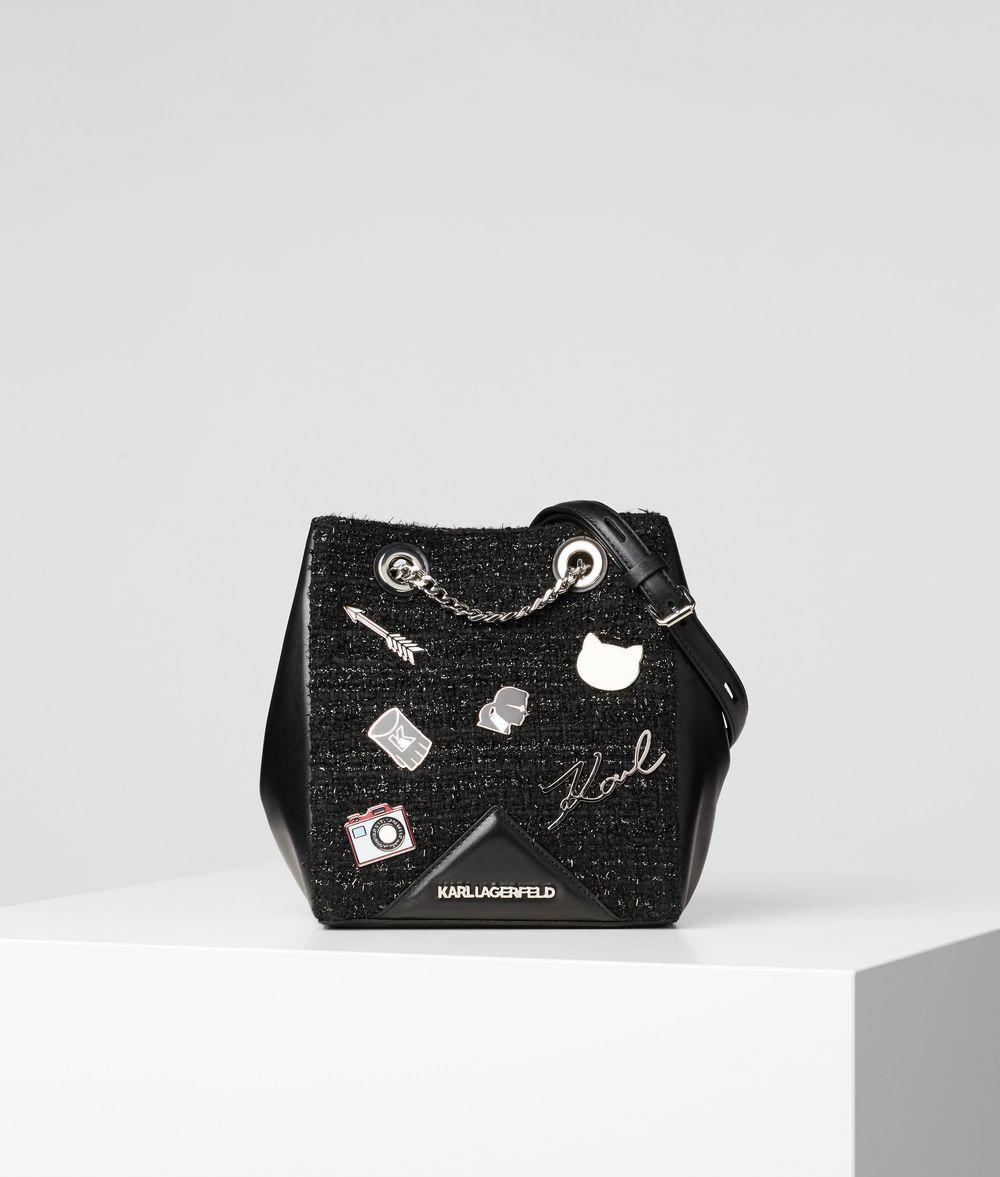 KARL LAGERFELD K/Klassik Pins Bucket Bag Drawstring bag Woman f