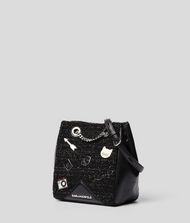 KARL LAGERFELD K/Klassik Pins Bucket Bag 9_f
