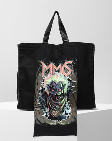 MM6 MAISON MARGIELA Teddy canvas shopper bag Tote [*** pickupInStoreShipping_info ***] f