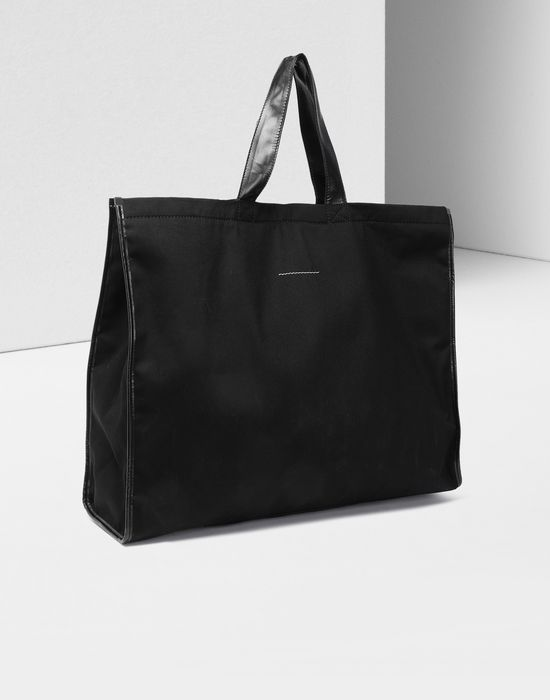MM6 MAISON MARGIELA Teddy canvas shopper bag Tote [*** pickupInStoreShipping_info ***] r