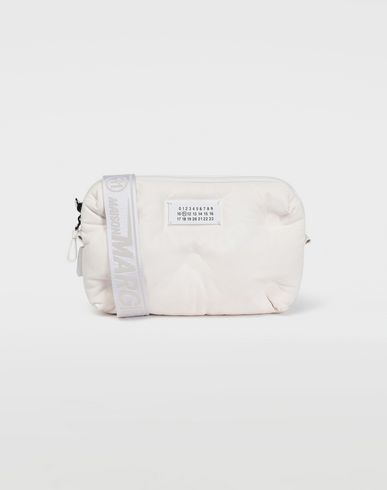 BAGS Glam Slam leather crossbody White