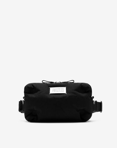 Glam Slam two-way nylon pochette bag