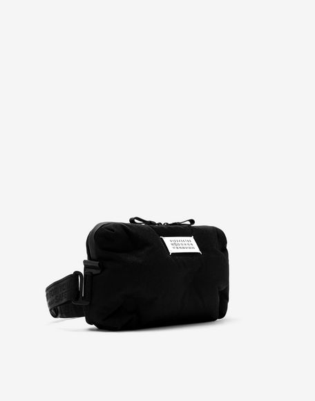 MAISON MARGIELA Glam Slam two-way nylon pochette bag Bum bag Man r
