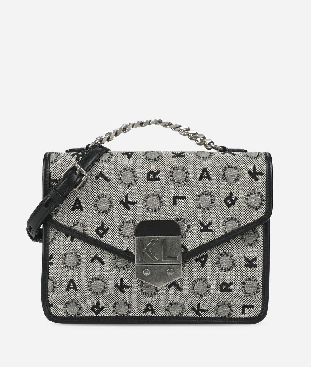 KARL LAGERFELD K/Jacquard Shoulder Bag Shoulder bag Woman f