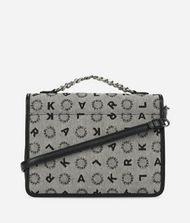 KARL LAGERFELD K/Jacquard Shoulder Bag 9_f