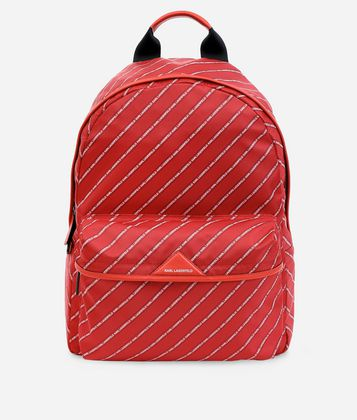 KARL LAGERFELD K/STRIPE LOGO BACKPACK