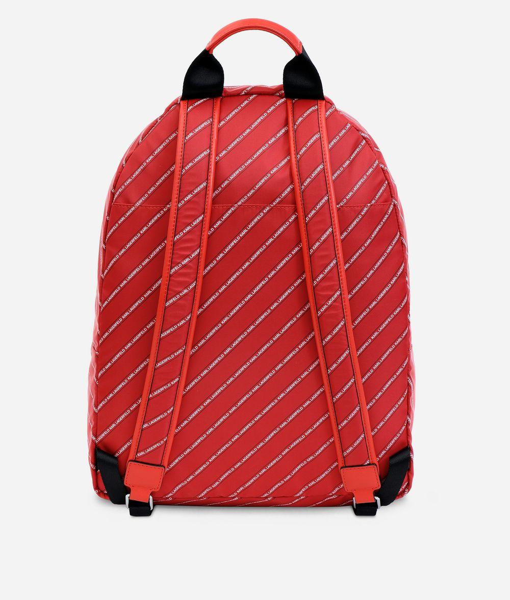 KARL LAGERFELD K/Stripe Logo sac à dos rayé Sacs à dos Femme d
