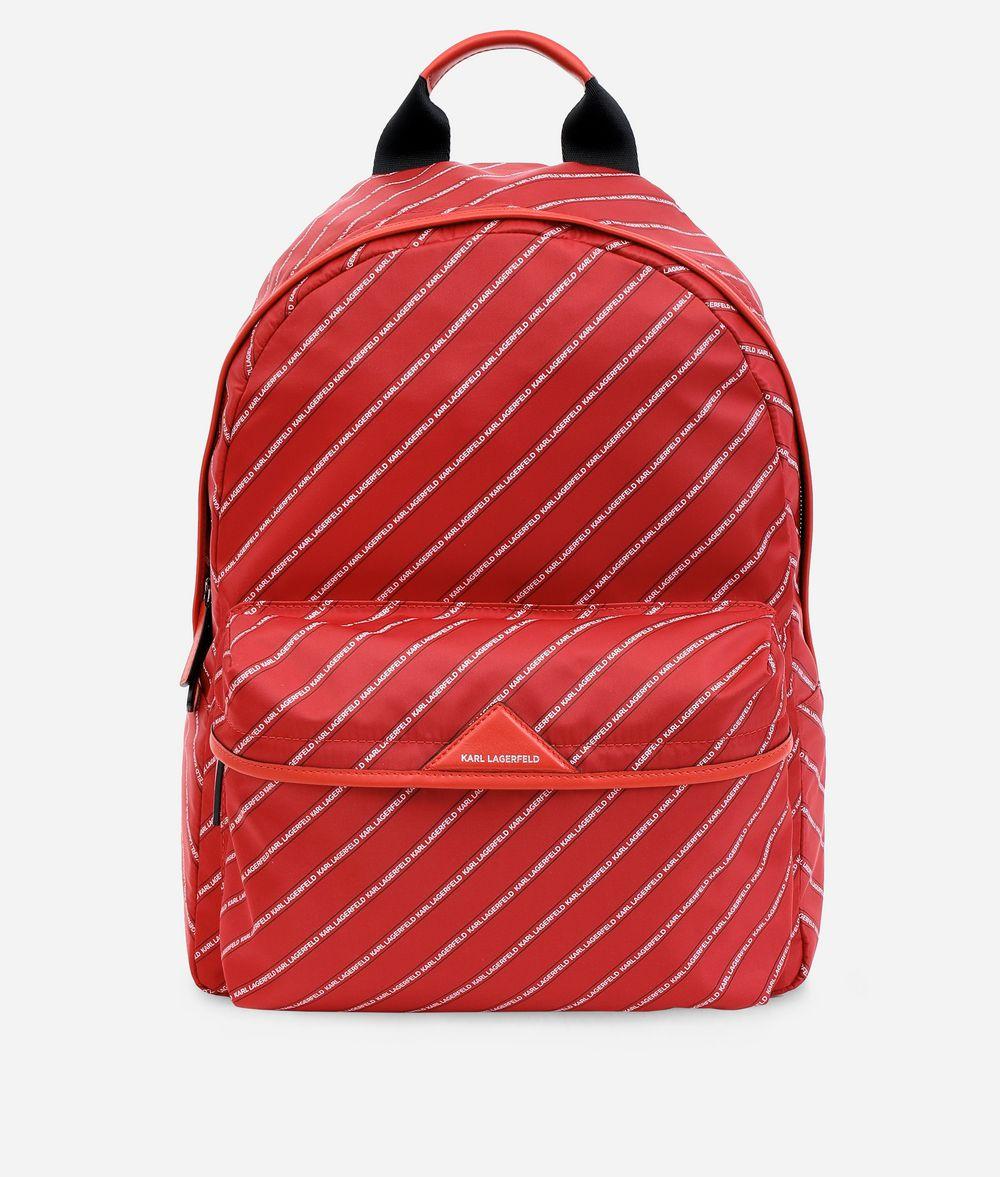 KARL LAGERFELD K/Stripe Logo sac à dos rayé Sacs à dos Femme f