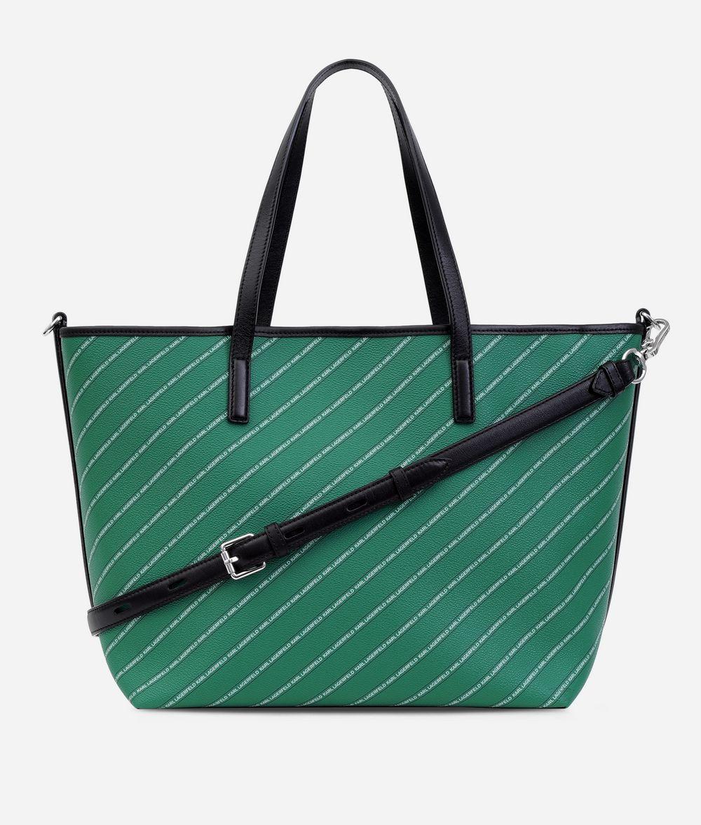 KARL LAGERFELD K/Stripe Logo Shopper Shopper Woman d
