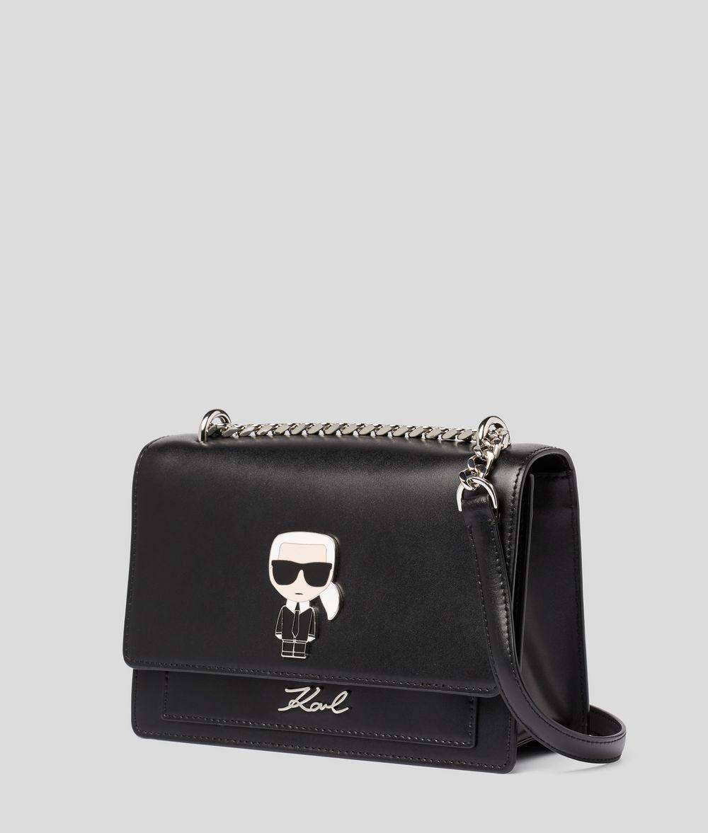KARL LAGERFELD K/Ikonik Metal Lock Shoulder Bag Crossbody Bag Woman d