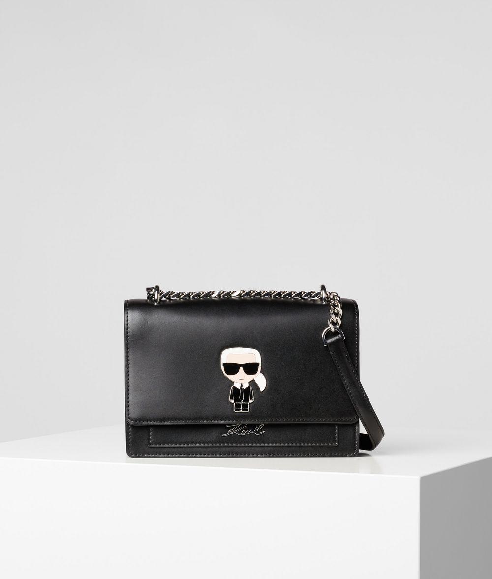 KARL LAGERFELD K/Ikonik Metal Lock Shoulder Bag Crossbody Bag Woman f
