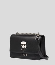 KARL LAGERFELD K/Ikonik Metal Lock Shoulder Bag 9_f