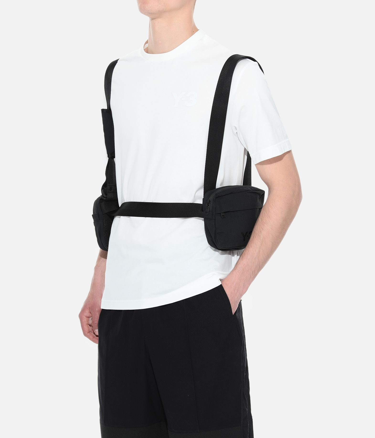Y-3 Y-3 Multi Pocket Bag Kleine Stofftasche E a