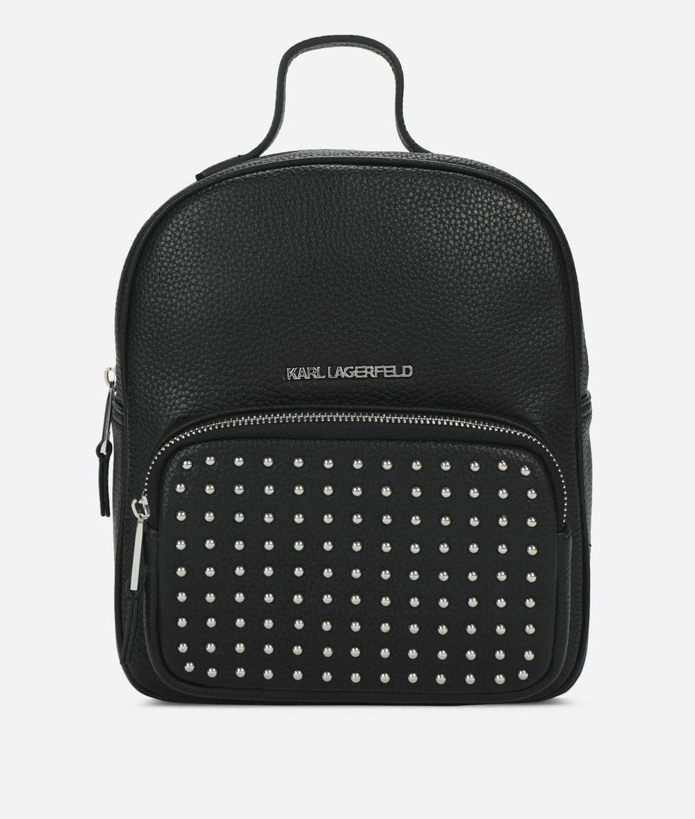 KARL LAGERFELD K/Korat Studs Backpack Backpack Woman f