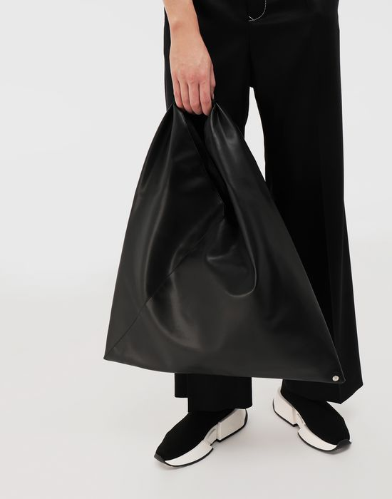 MM6 MAISON MARGIELA Japanese faux leather medium bag Tote [*** pickupInStoreShipping_info ***] b