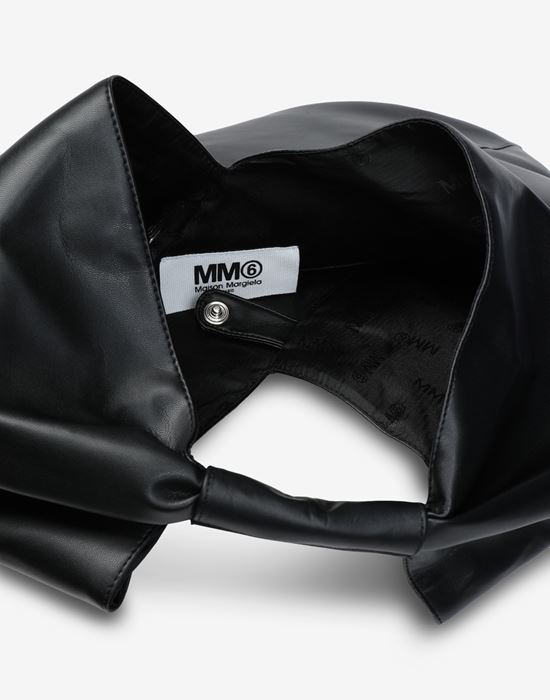 MM6 MAISON MARGIELA Japanese faux leather medium bag Tote [*** pickupInStoreShipping_info ***] d