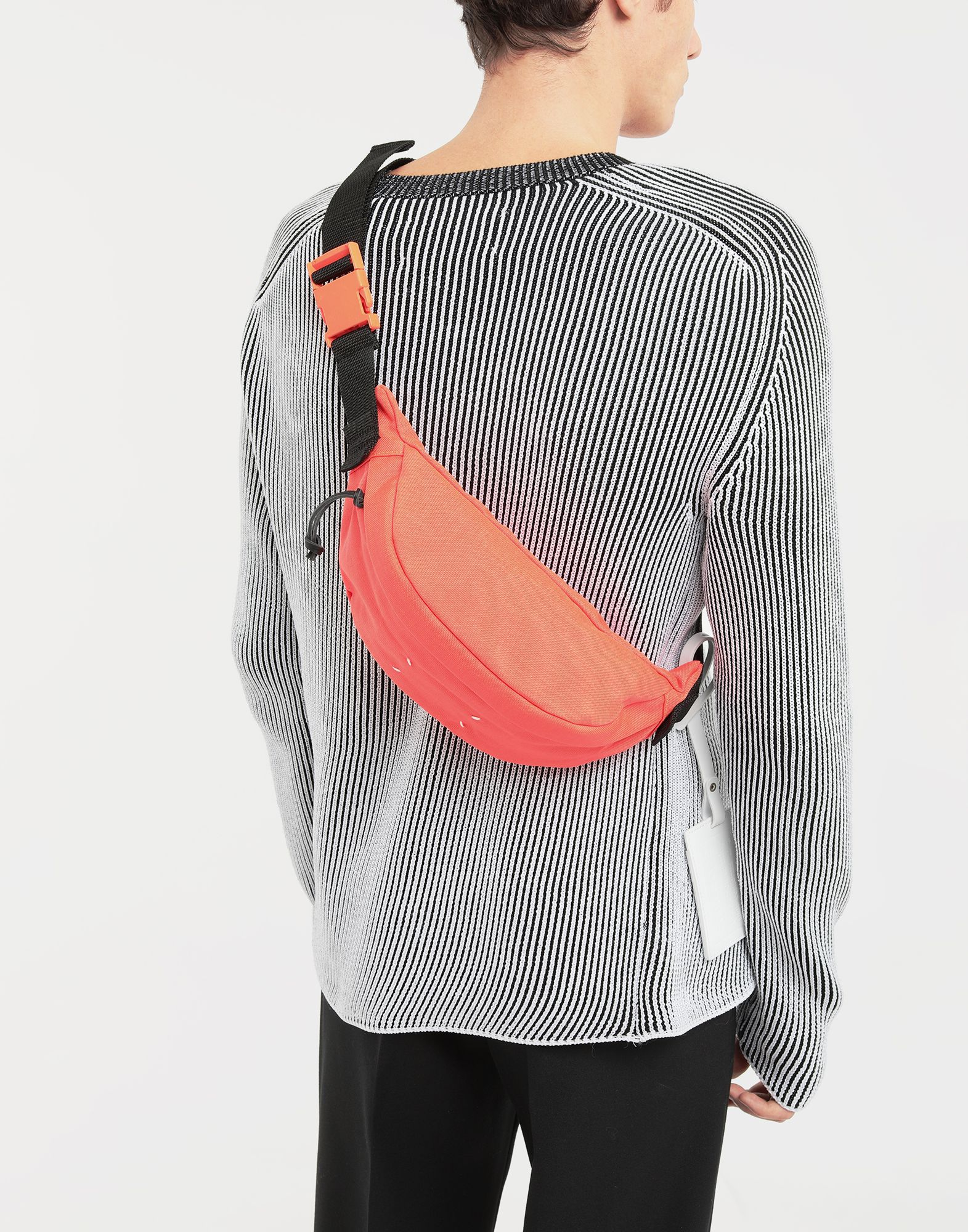 MAISON MARGIELA Nylon bumbag Bum bag Man b