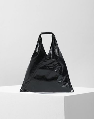 Japanese crinkled leather small bag
