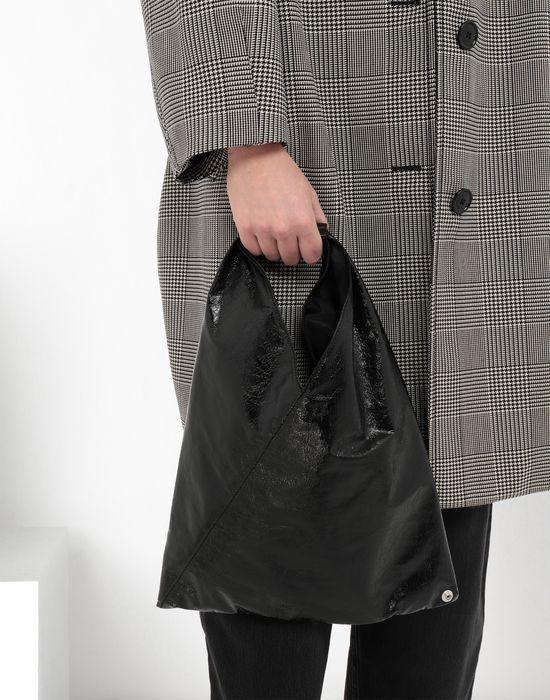 MM6 MAISON MARGIELA Japanese crinkled leather bag Tote [*** pickupInStoreShipping_info ***] b