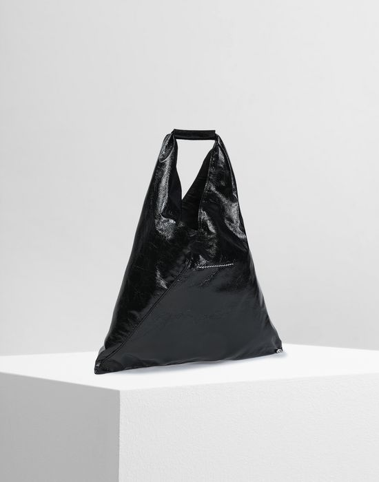 MM6 MAISON MARGIELA Japanese crinkled leather small bag Tote [*** pickupInStoreShipping_info ***] r