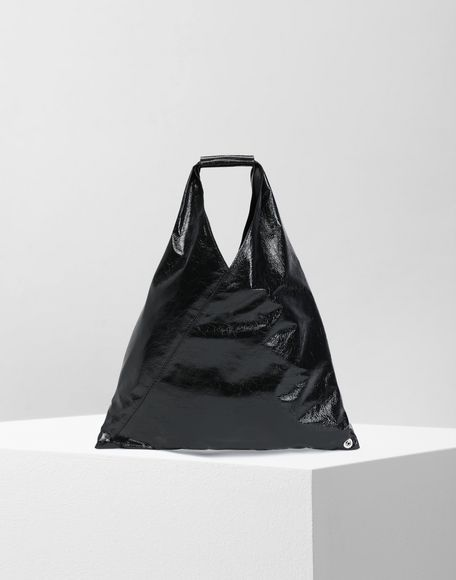MM6 MAISON MARGIELA Japanese crinkled leather small bag Tote Woman f