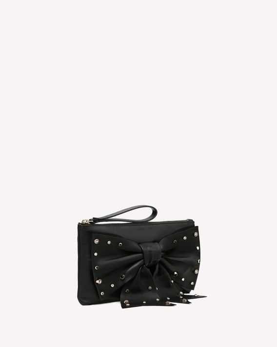 REDValentino CLUTCH FLOW BOW