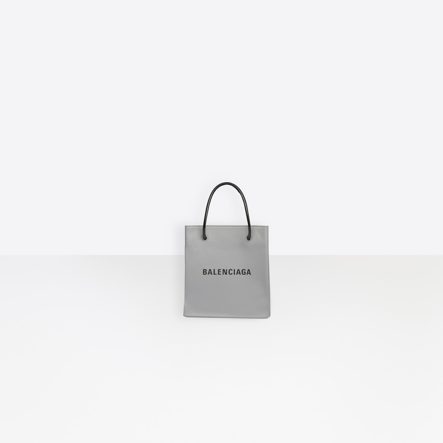 dd8bf3eda92e9 Shopping Tote XXS ANTHRACITE / BLACK for Women | Balenciaga