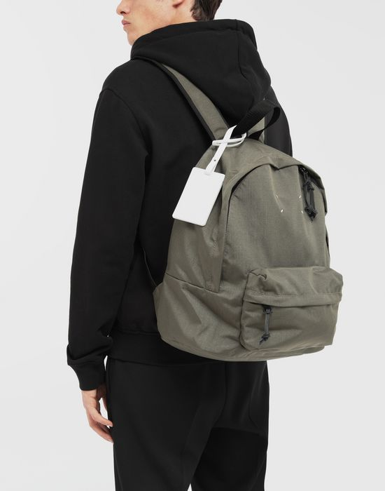 MAISON MARGIELA Medium nylon backpack Backpack [*** pickupInStoreShippingNotGuaranteed_info ***] b