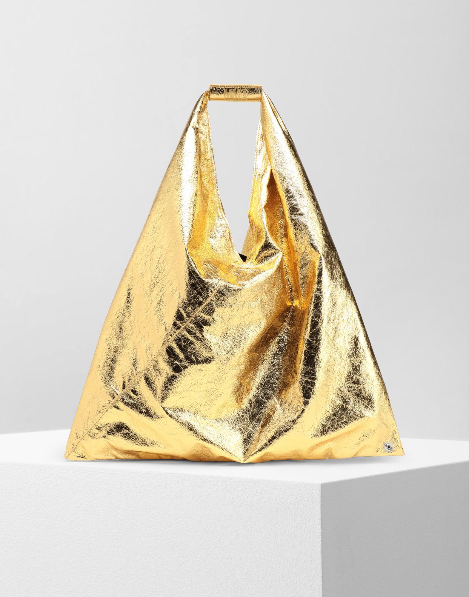 MM6 MAISON MARGIELA Japanese crinkled leather medium bag Tote Woman f