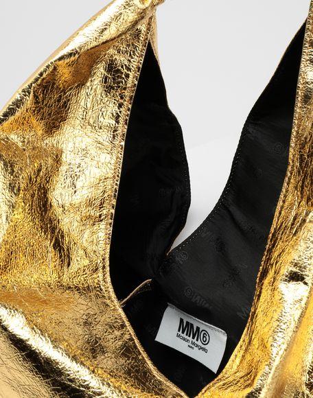 MM6 MAISON MARGIELA Japanese crinkled leather medium bag Tote Woman d