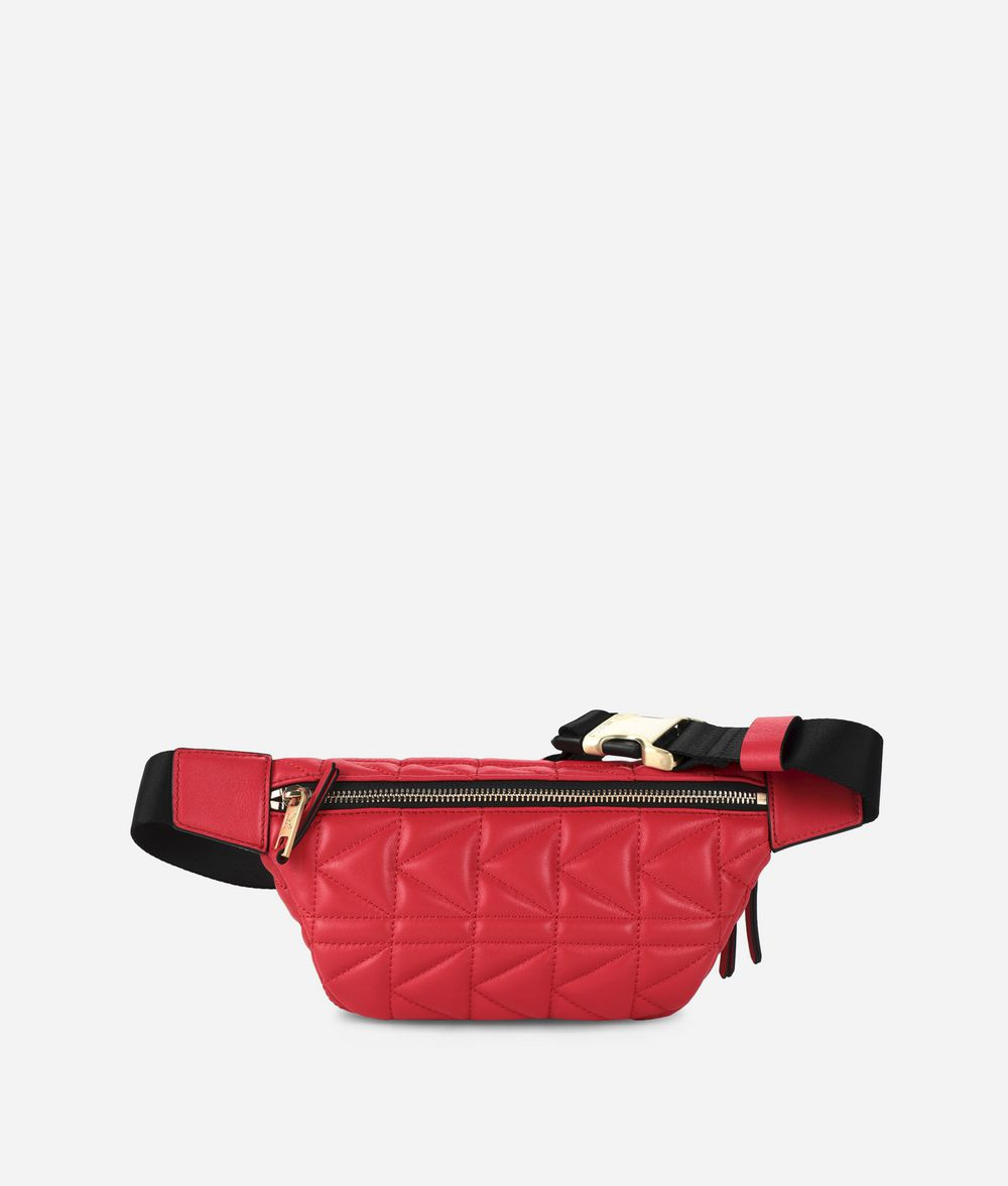 KARL LAGERFELD K/Kuilted Studs Belt Bag Fanny pack Woman d