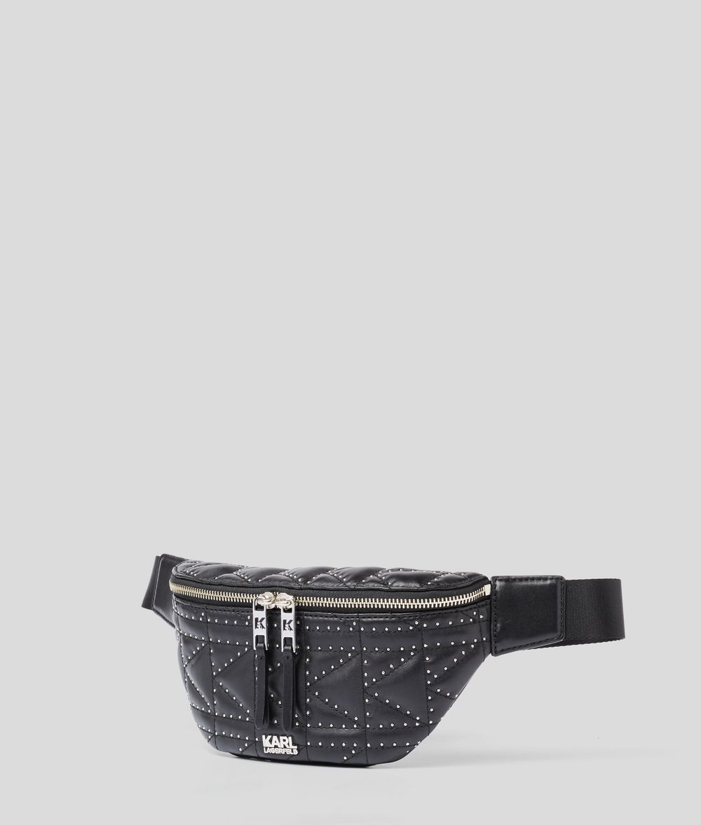 KARL LAGERFELD K/Kuilted Studs Bumbag Bum bag Woman d