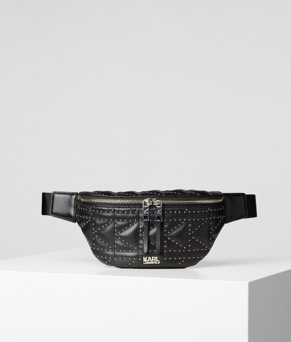 KARL LAGERFELD K/Kuilted Studs Bumbag Bum bag Woman f