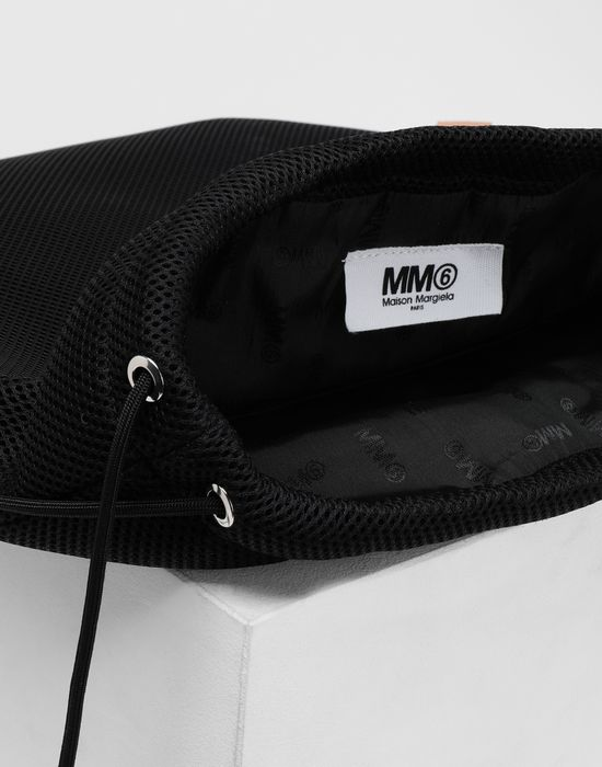 MM6 MAISON MARGIELA Net mesh drawstring backpack Backpack [*** pickupInStoreShipping_info ***] d