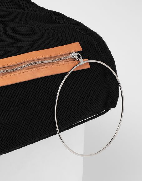 MM6 MAISON MARGIELA Net mesh drawstring backpack Backpack Woman e
