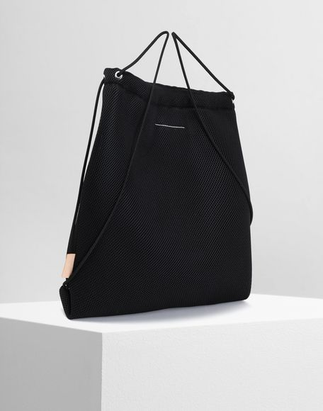 MM6 MAISON MARGIELA Net mesh drawstring backpack Backpack Woman r