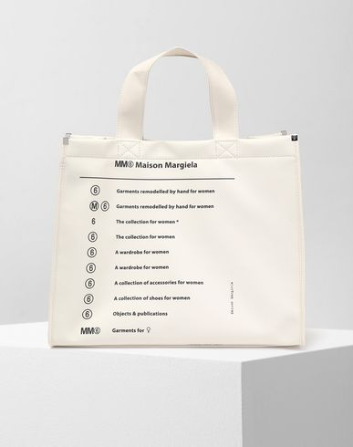 MM6 MAISON MARGIELA Tote [*** pickupInStoreShipping_info ***] Teddy shopper bag f