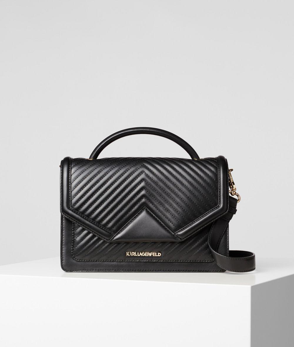 KARL LAGERFELD K/Klassik Quilted Shoulder Bag Handbag Woman f