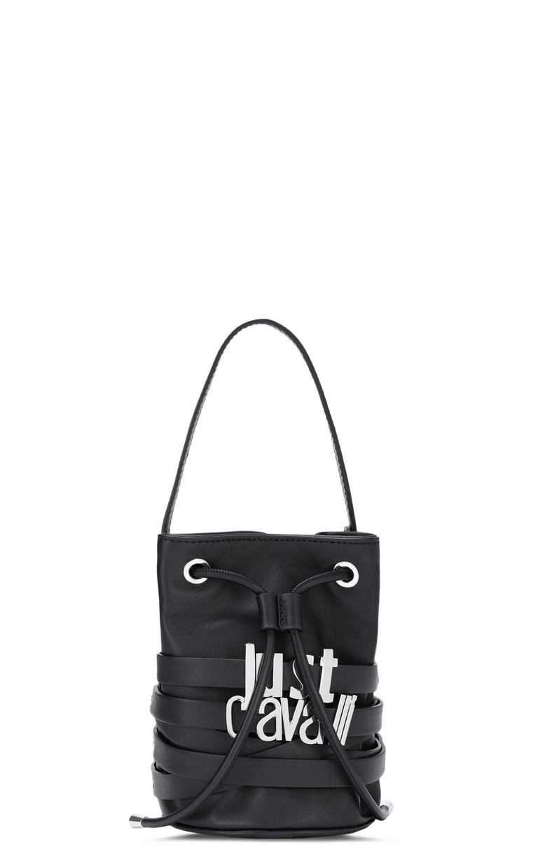 JUST CAVALLI Bucket bag with logo Crossbody Bag [*** pickupInStoreShipping_info ***] f