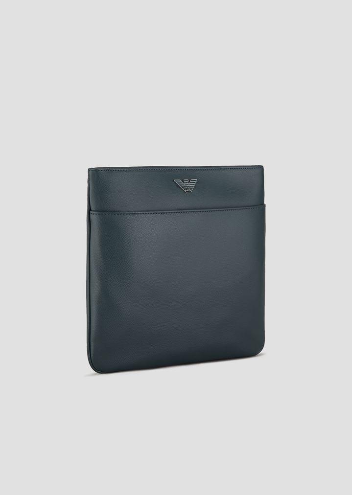 ... Cross-body bag in printed boarded leather. EMPORIO ARMANI 6b60e6ef9c5b7