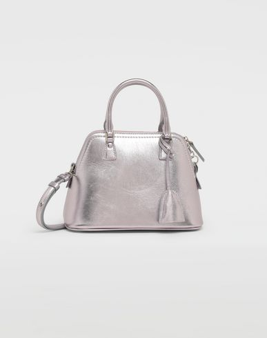 MAISON MARGIELA Shoulder bag [*** pickupInStoreShipping_info ***] 5AC metallized leather bag f