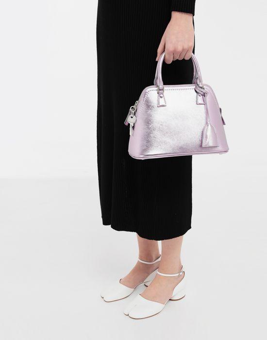 MAISON MARGIELA 5AC metallized leather bag Shoulder bag [*** pickupInStoreShipping_info ***] b