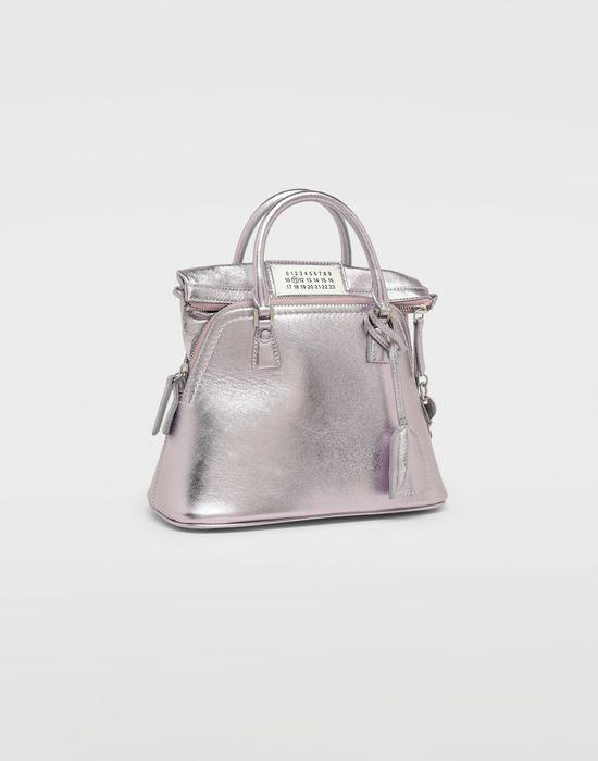 MAISON MARGIELA 5AC metallized leather bag Shoulder bag [*** pickupInStoreShipping_info ***] r