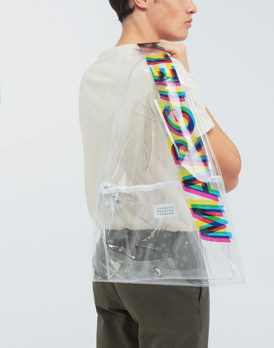 MAISON MARGIELA PVC shopper tote Tote [*** pickupInStoreShippingNotGuaranteed_info ***] b